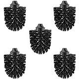 Inodoro cabezal de Negro, diámetro 85mm, M12, rosca interior, juego de 5