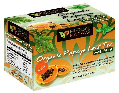 Papaya Leaf Tea Teabags Organic product image