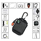 Paracord Deluxe Grenade Survival Kit Perfect for Camping Fishing Hiking ...
