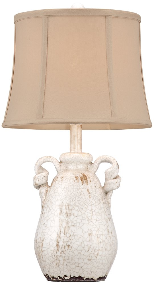 Sofia Ivory Ceramic Table Lamp Amazon Com