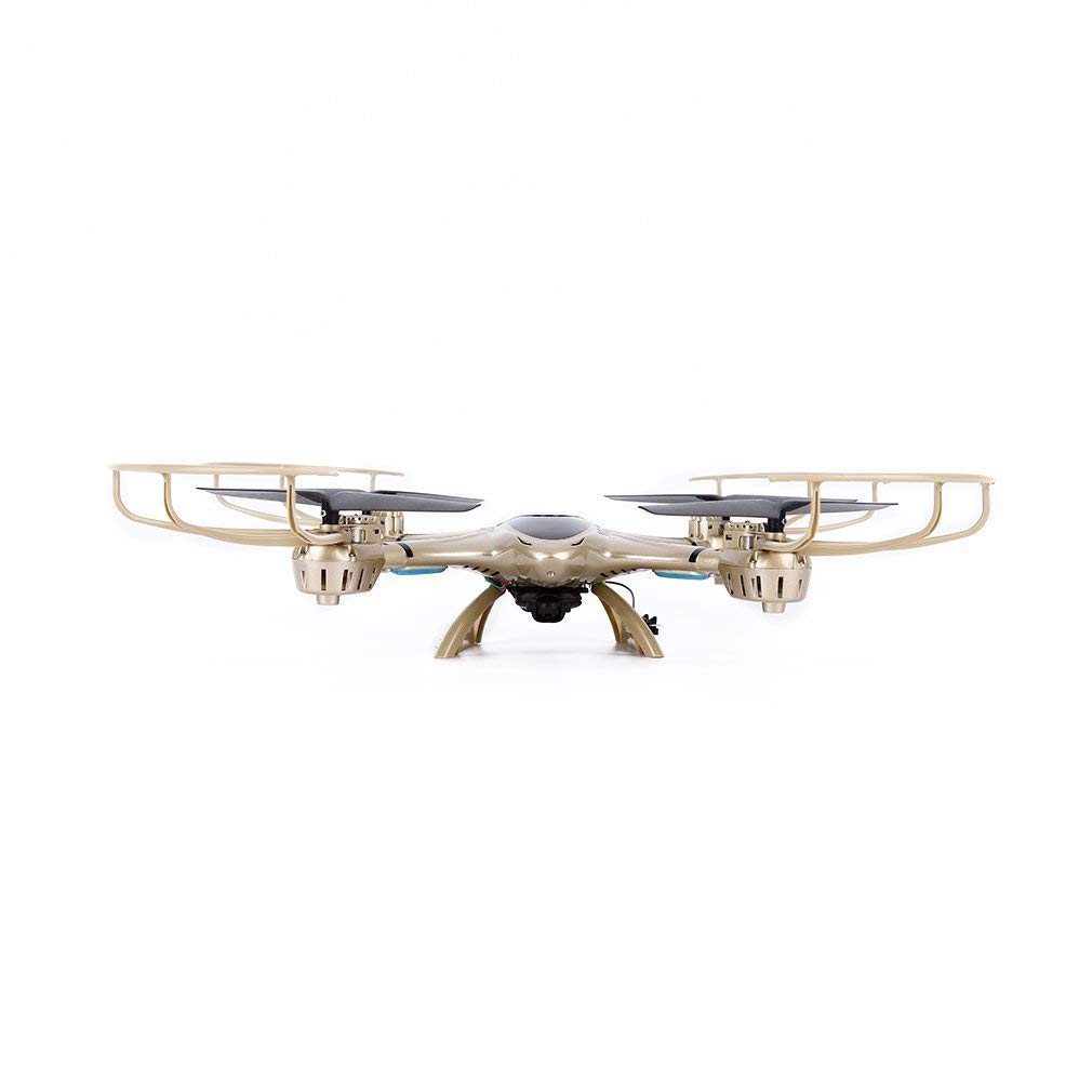 Juweishangmao 2.4GHz 4CH FPV WiFi 6 Axis Gyro Drone 0.3MP Camera Suitable with MJX X401H-Golden by Juweishangmao (Image #3)