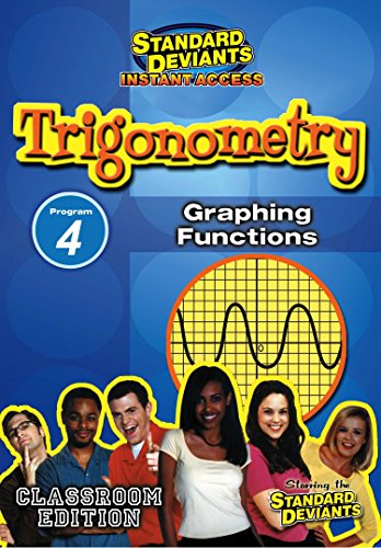 SDS Trigonometry Module 4: Graphing Functions [Instant Access]