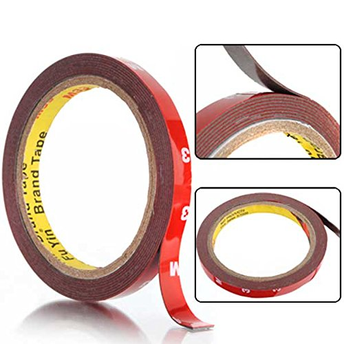 Mag Measuring Tape (Crafts - 3meters Double Sided Acrylic Foam Tape Auto - Acrylate Resin Effervesce Recording Fiber Suds Record Sparkle Mag Fizz Measure Paint Spume Videotape Seethe Tapeline - 1PCs)