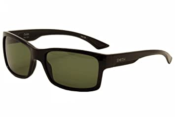 36b10b0d94c31 Smith Optics Dolen Black ChromaPop Polarized Grey Green Sunglasses ...