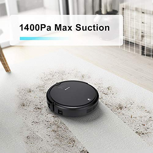 Automatic Vacuum Hair with Mop, Self-Charging Robotic Vacuum UV Filter Fur Hair and and Tile-Gray