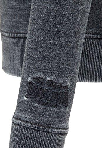 Portbury Lonsdale Sweater Zip Negro Lavado ffw4qAE