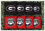 Georgia Bulldogs Replacement Cornhole Bag Set (corn-filled)