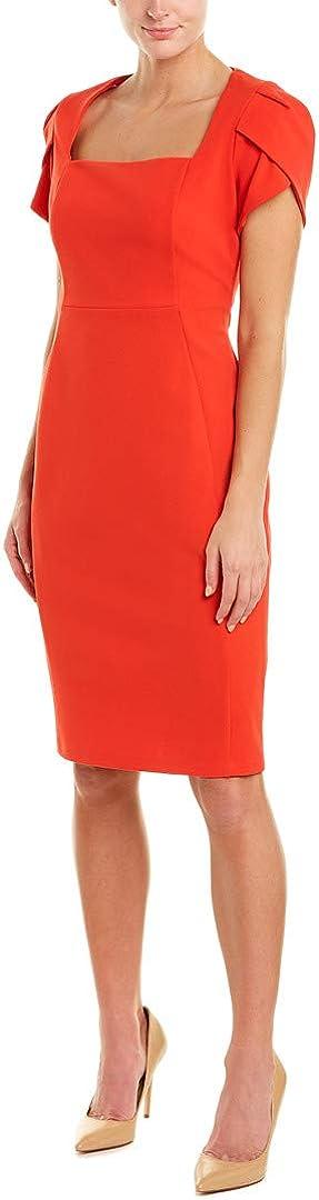 Donna Morgan Women's Tulip Sleeve Sheath Dress