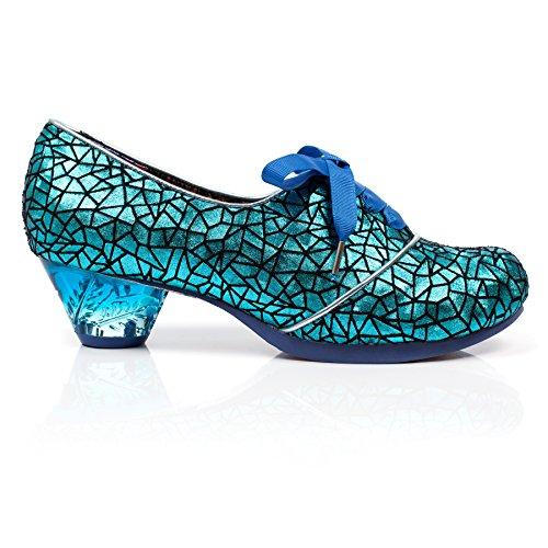 5 Choice Sort Syntetisk Wedge Kvindelig Sort Blå 4068 Irregular Sandaler Med blå gBxwFwqE