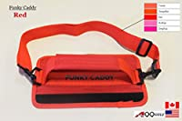 A99 Golf C12 Funky Caddy Golf Bag Driving Range Carrier Sleeve Light with velcro Red