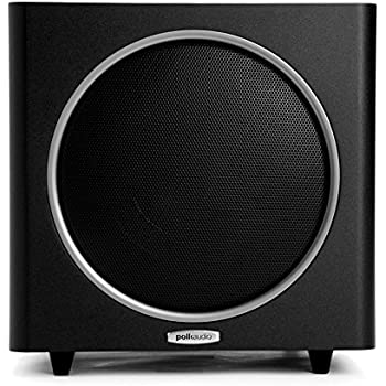 Polk Audio PSW110 10-Inch Powered Subwoofer (Single, Black)