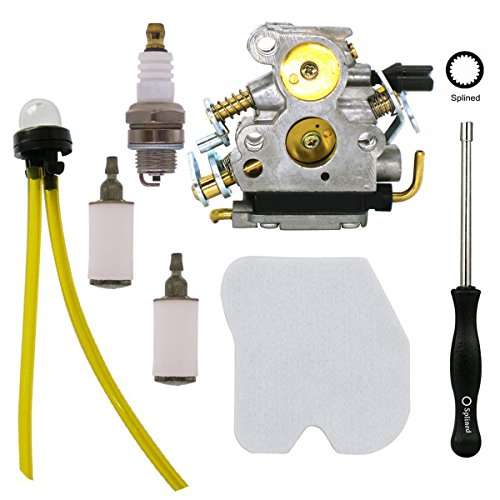 Atoparts Carburetor with Adjustment Tool Air Filter for Husqvarna 235 235E 236 236E 240 240E Chainsaw replace # 574719402 545072601 by Atoparts