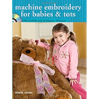 Machine Embroidery for Babies and Tots
