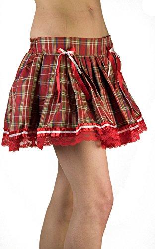 Starline Lingerie - Vestido - Cuadrados - para mujer Rosso
