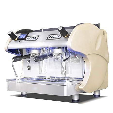 PLTJ-Pbs Máquina de café Italiana Semi-automática de Doble Cabeza de café máquina