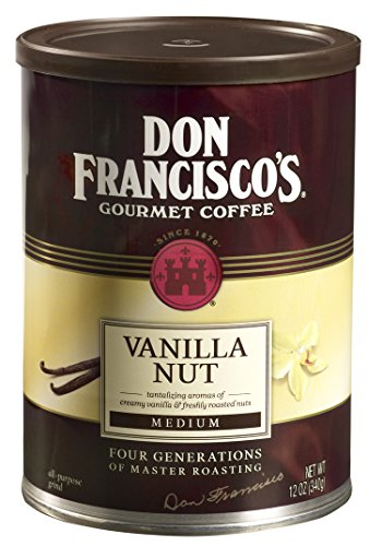 don-franciscos-vanilla-nut-12oz-ground-coffee-can