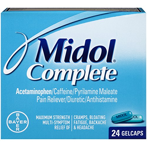 Midol Complete Gelcaps 24 Count Box product image