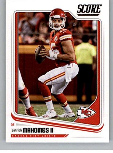 2018 Score #159 Patrick Mahomes II Kansas City Chiefs Football Card (Football Kansas City Card Chiefs)