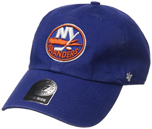 NHL New York Islanders Clean Up Adjustable Hat, One Size, Royal