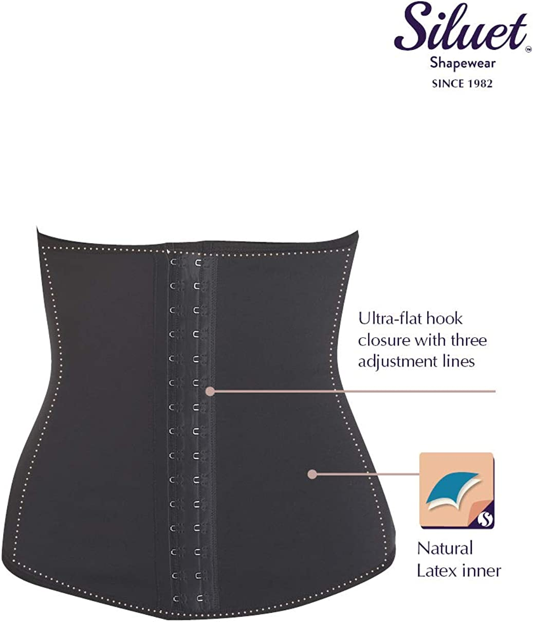 Firm Control Shaping Corsets Body Shaper Siluet E6020 Fajas Colombianas Latex Waist Cincher