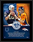 "Peyton Manning Denver Broncos/Indianapolis Colts 10.5"" x 13"" Sublimated Retirement Collage Plaque - NFL Player Plaques and Collages"