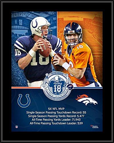 Peyton Manning Denver Broncos Indianapolis Colts 10.5