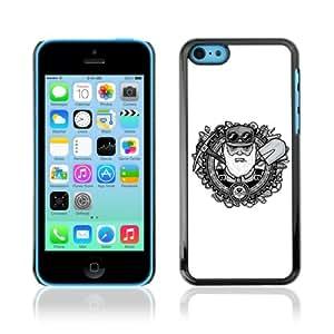 CQ Tech Phone Accessory: Carcasa Trasera Rigida Aluminio para Apple iPhone 5C - Retro Miner
