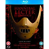 The Hannibal Lecter Trilogy: Red Dragon, The Silence of the Lambs, Hannibal [Blu-ray]