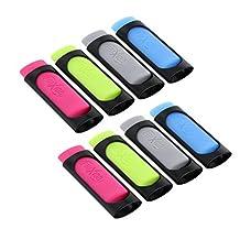 Pilot FriXion Erasers, Pink, Yellow Green, Light Blue, Grey (Set of 8)