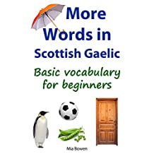 More Words in Scottish Gaelic: Basic vocabulary for beginners (Learn Scottish Gaelic Book 2)