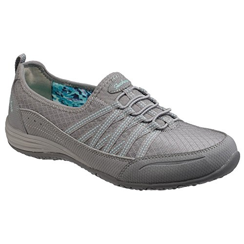 Sports Shoes Big Grey SK23055 Skechers Trainers Ladies Womens Unity Go xwEYXz0Xq