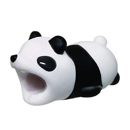 Da.Wa 1X Devanadera de Cable Protector de Cargador Cable Protector Cubre para Celular Panda