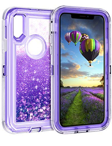 - Coolden Floating Glitter Case for iPhone X (5.8