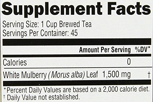 Genesis Nutrition Today White Mulberry Tea, 45 Count (Pack of 6)
