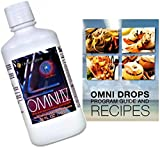 Omni Drops Diet Drops with Vitamin B12-4 oz with Program Guide and Omni IV (Omni 4) Liquid Vitamins and Minerals with Glucosamine and Co-Q10 by Omnitrition Bundle