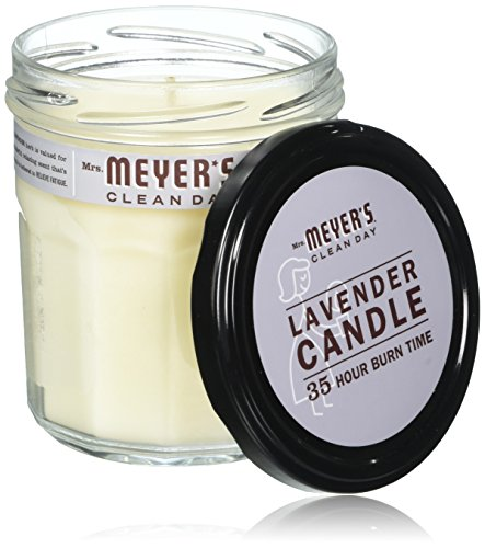 Mrs. Meyer's Clean Day Soy Candle - Lavender - 7.2 oz - 2 pk (Candle Soy Lavender Meyers Mrs)