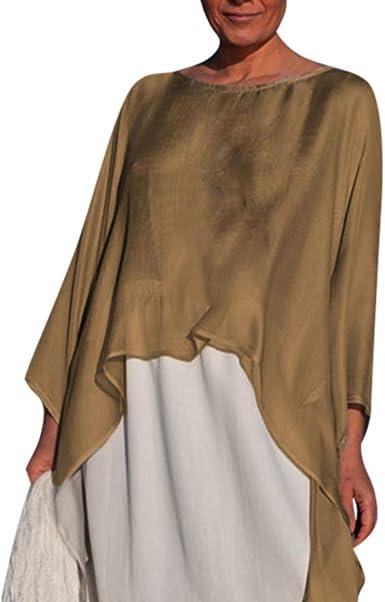 Poachers Camisetas Mujer Manga Larga Originales Tops Mujer Fiesta Sexy Blusas para Mujer Elegantes Tallas Grandes Camisas Mujer Verano 2019 Blusas Mujer Boda Tops Deportivo Mujer Prime: Amazon.es: Ropa y accesorios