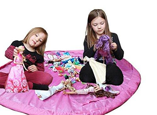 Faltbare Spielzeug-Speicher-Beutel, Kinder Spielzeug Aufbewahrungstasche, CIDBEST® Baby Kids Spielzeug Organizer Spielen Bodenmatte, wasserdichter Picknick Camping-Matte, Tragbare Lego Organizer Kid Playmat Gut für Speicherung Kleine und mittlere Spielzeug (einfach,Praktisch,Stabiler)