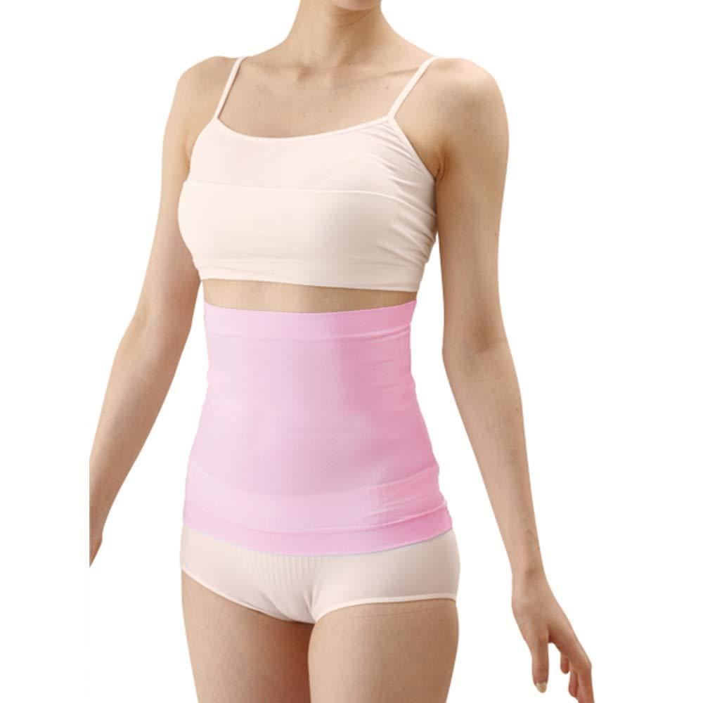 Woman's Desire Waist Shapewear Belly Band Belt Body Shaper Made in Japan Pink