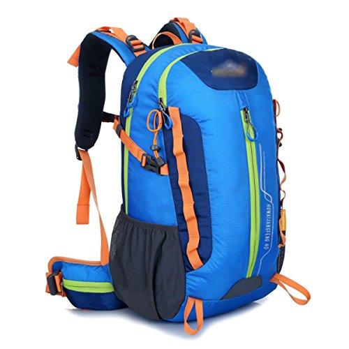YUEER Alpinismo Mochila Hombres Y Mujeres Ejercicio Fitness Hombros Caminar Camping Stent Al Aire Libre Bolsa De Viaje,D C