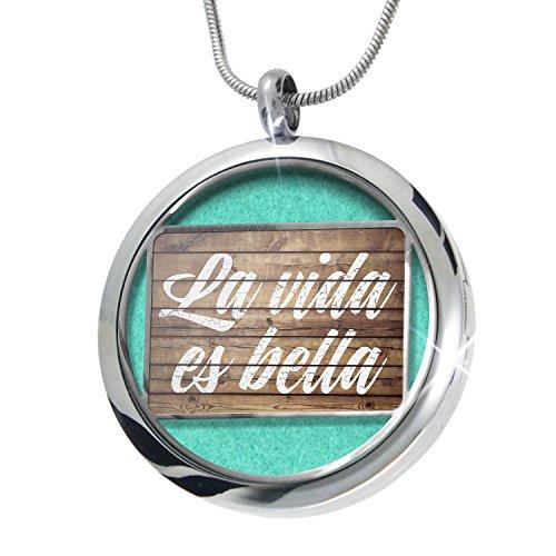 neonblond-painted-wood-la-vida-es-bella-aromatherapy-essential-oil-diffuser-necklace-locket-pendant-