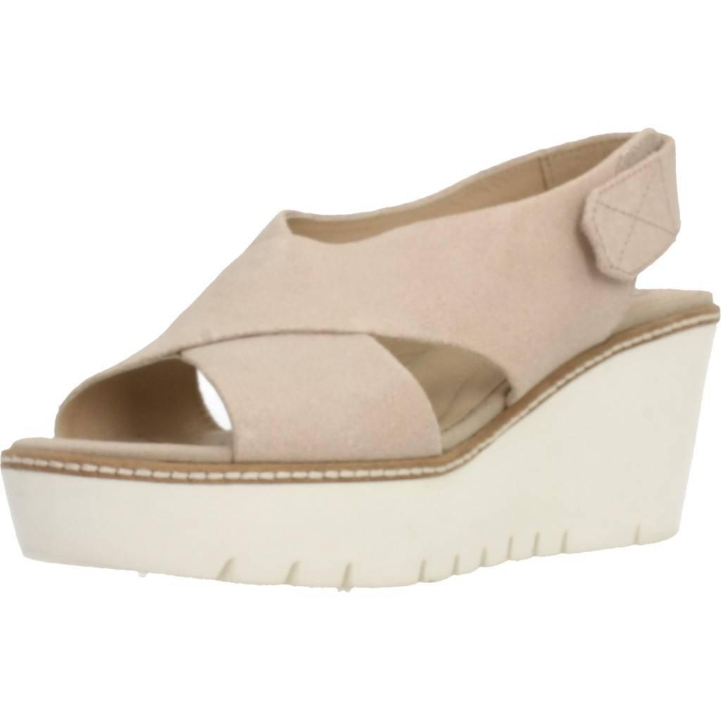 Sandalen/Sandaletten, farbe Beige , marke GEOX, modell Sandalen/Sandaletten GEOX D DOMEZIA Beige