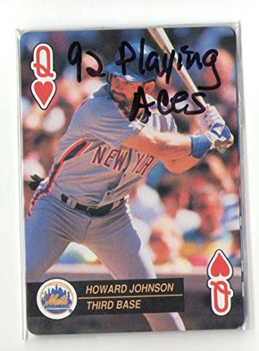 1992 Playing Card Aces - NEW YORK METS 2 (New York Mets Playing Card)