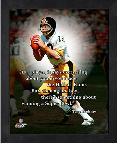 Terry Bradshaw Pittsburgh Steelers ProQuotes Photo (Size: 9