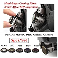 HD Lens Filters MCUV+ND4+ND8+ND16+CPL Gimbal Camera Accessorie for DJI MAVIC PRO