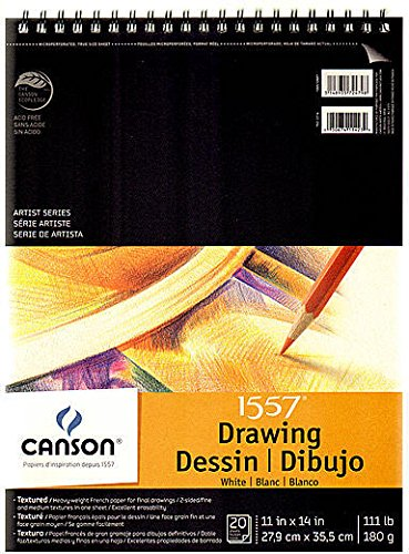 Canson C a Grain Drawing Paper Pads (11 In. x 14 In.) 1 pcs sku# 1829088MA by Canson