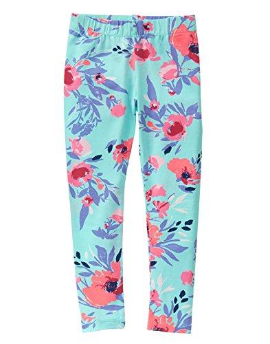 Crazy 8 Girls Big Blue Multi Floral Legging