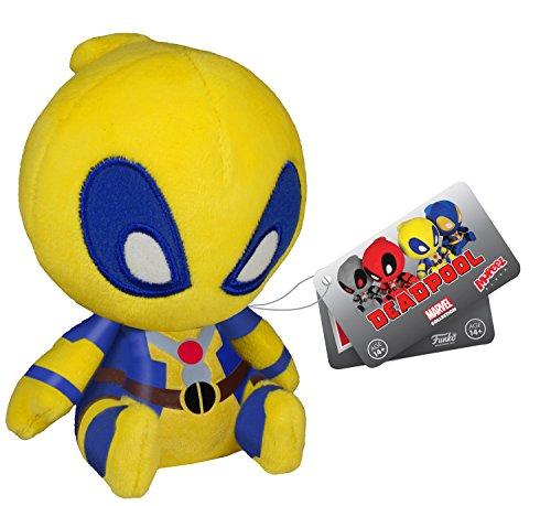 "Deadpool Yellow X-Men Plush - Marvel Mopeez - 11cm 4.5"""
