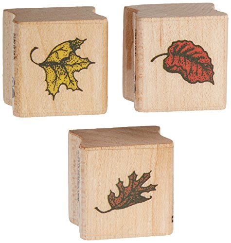 Autumn Leaves Rubber Stamps - 9
