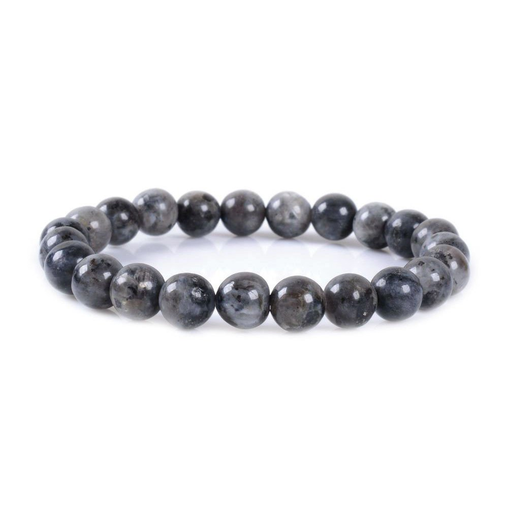 Justinstones 8mm Round Beads Stretch Bracelet 7